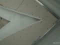 Монтаж на алуминиеви ъгли върху гипсокартон.