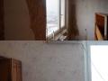Ремонт на стая преди и след.