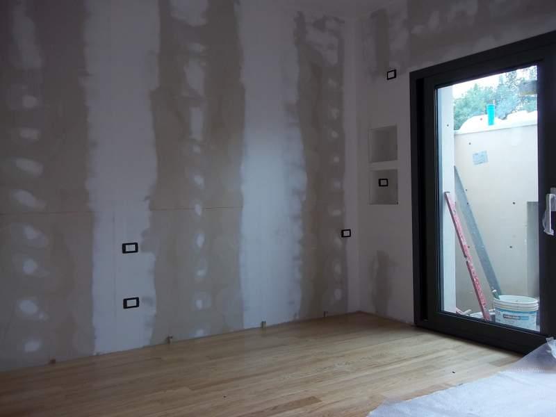 Изолация на стена с предстенна обшивка.