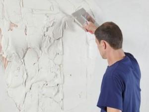 Полагане на гипсова мазилка по стени и тавани.