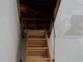Монтаж на вграден стълба в таван.